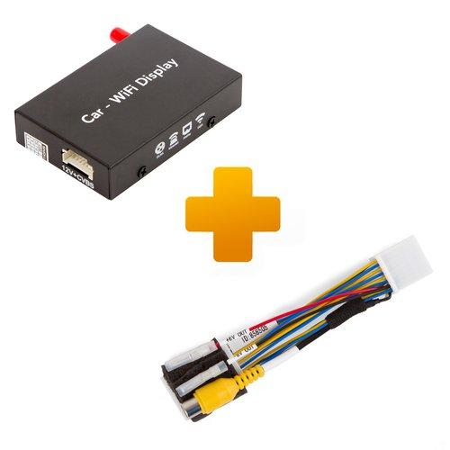 Адаптер дублирования экрана Smartphone/iPhone и кабель подключения для Toyota Touch, Scion Bespoke