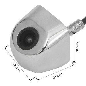 Universal Car Camera CS C0007 in Chrome Case