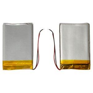 Battery, (50 mm, 34 mm, 3.8 mm, Li-ion, 3.7 V, 650 mAh)