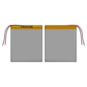 Battery, (80 mm, 67 mm, 3.0 mm, Li-ion, 3.7 V, 1700 mAh)
