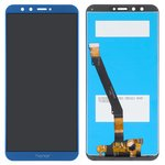LCD compatible with Huawei Honor 9 Lite, (dark blue, with touchscreen, Original (PRC), AL00/AL10/TL10)