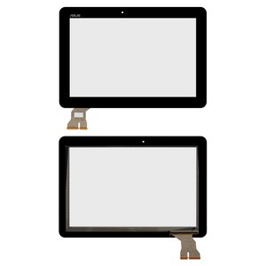 Cristal táctil para tablet PC Asus Transformer Pad TF103C, Transformer Pad TF103CG, negro, High Copy, #076-1015/10160600/0046801643