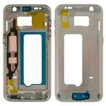 Parte media de carcasa Samsung G930F Galaxy S7, dorada