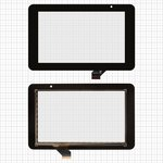 "Сенсорный экран для планшетов China-Tablet PC 7""; Prestigio MultiPad 7.0 HD (PMP3970B), MultiPad 7.0 HD (PMP5570С), 7"", 118 мм, 191 мм, 30 pin, емкостный, черный, #ACE-CG7.0A-249/GKG0362A/GKG0469A"
