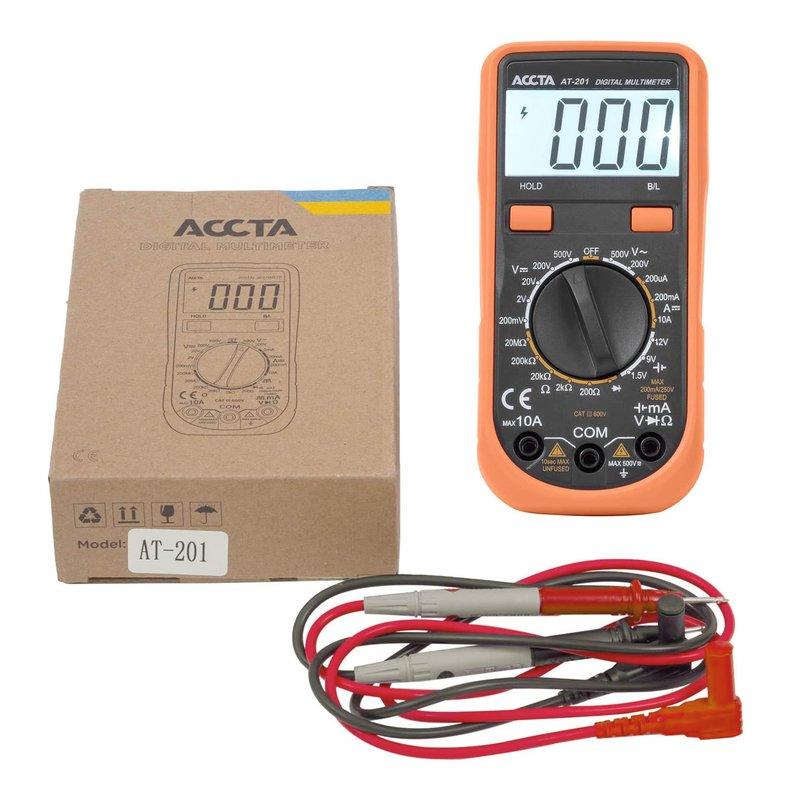 Цифровий мультиметр Accta AT-201 Зображення 1