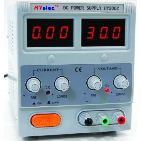 Регулируемый блок питания HYelec HY3002