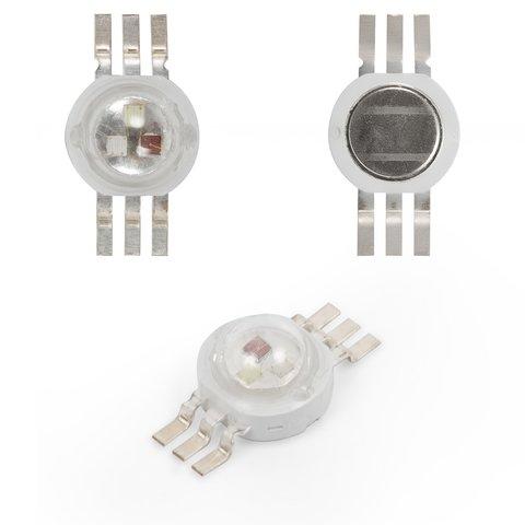 Світлодіод 3 Вт RGB, 6 контактів, 350 мА