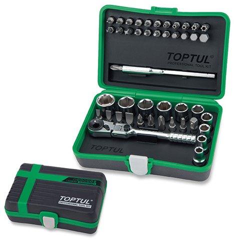 Набір інструментів у кейсі TOPTUL GADW4502
