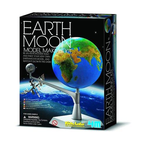 STEAM-конструктор 4M Макет Землі та Місяця