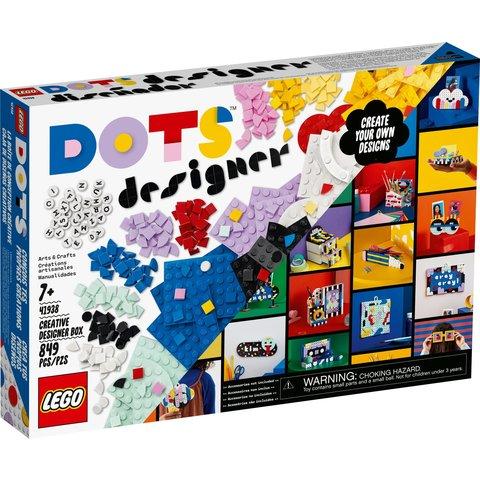 Конструктор LEGO DOTs Коробка для творчого дизайну 41938